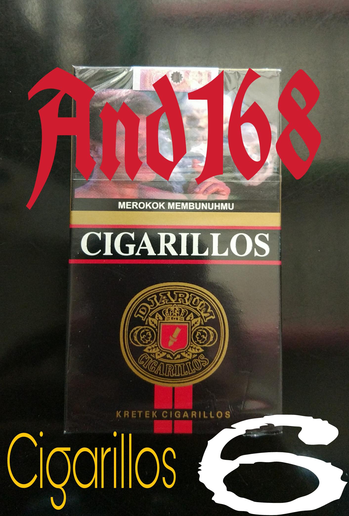 Jual Cerutu Djarum Cigarillos 6 Rokok Jarum Cigarilos And168 Paket Dan Accesoris Tokopedia