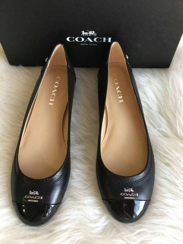 63838ef64921 ... ballet flat shoes black smoke 9da1e 2c18a  spain jual jual sepatu coach  chelsea black flat shoes coach ori liel hans tokopedia b38ff 8c9af