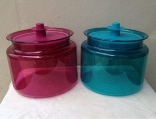 Tupperware Counterpart Toples 1,2 L Tosca Ungu (2 Pcs)