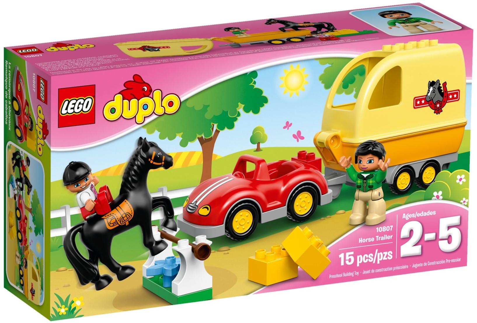 LEGO # 10807 DUPLO  Horse Trailer