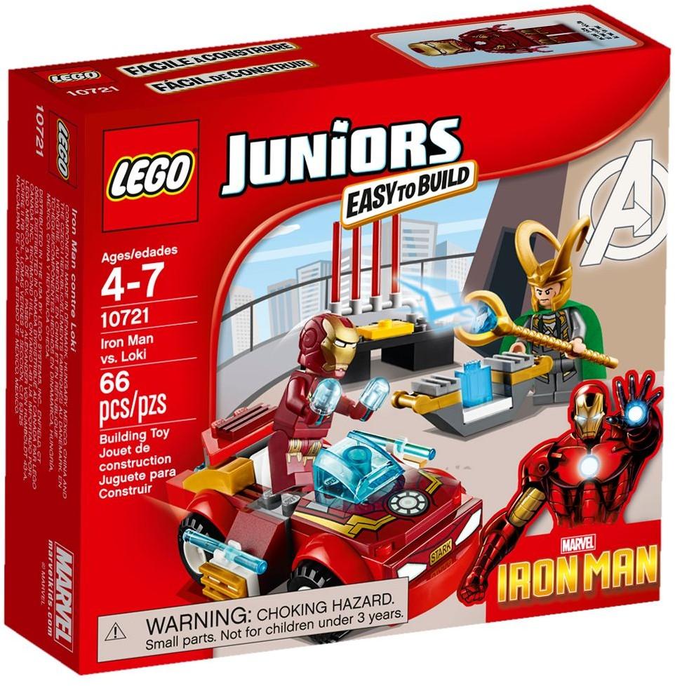 LEGO # 10721 JUNORS  Iron Man vs. Loki