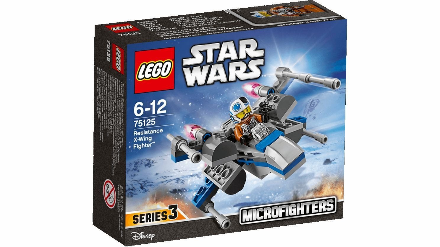 LEGO # 75125 STARWARS  Resistance X-wing Fighter