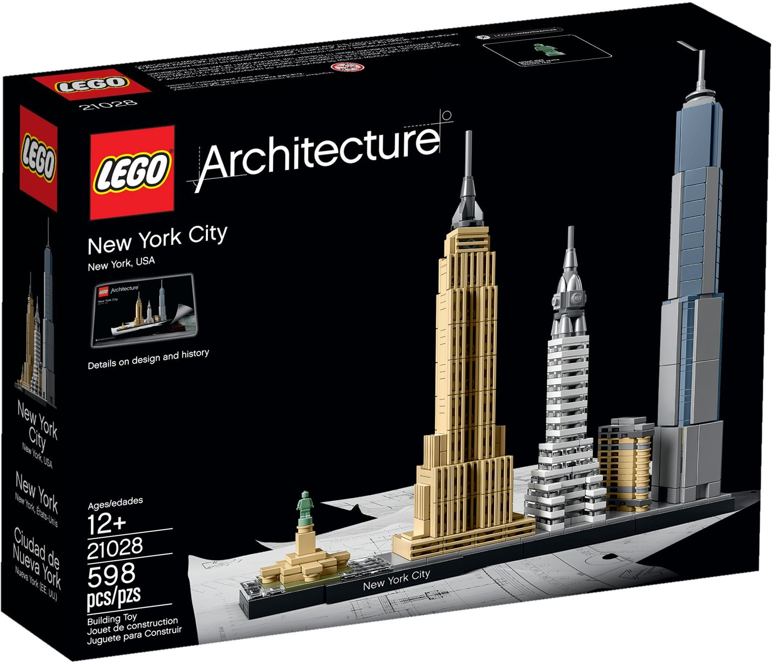LEGO # 21028 ARCHITECTURE  New York City