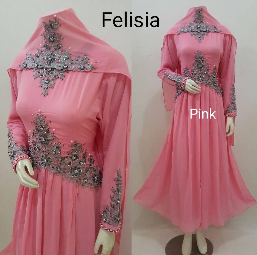 Jual Gamis Pesta Muslimah Terbaru, Abaya, Maxi Dress