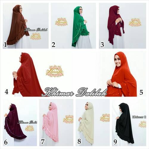 Hijab Khimar Delilah Ori Narinda