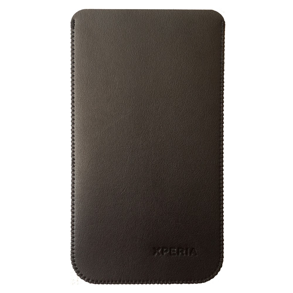 Primary Original For Sony Z5 Leather Pouch - Hitam