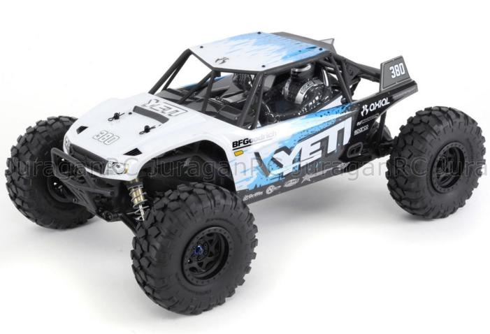 RC Car Axial Racing Yeti 110th Rock Racer 4WD RTR
