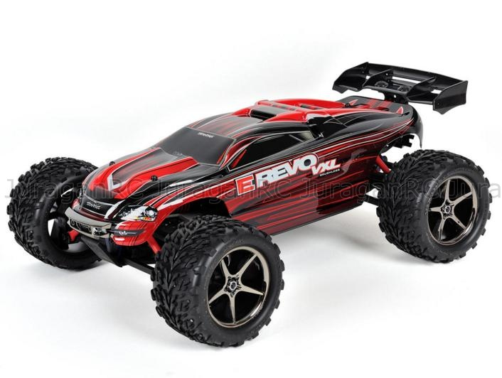 RC Car Traxxas E-Revo VXL 1/16 Brushless 4WD RTR