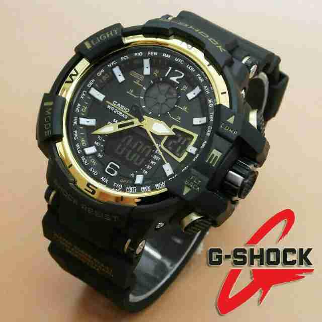 G-SHOCK GWA 1100 BLACK LIST GOLD