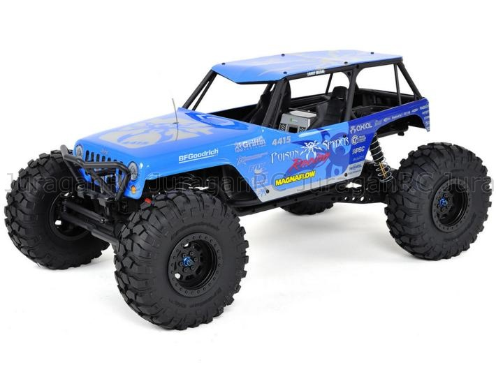 Axial Racing Wraith Jeep Wrangler Poison Spyder Rock Crawler 4WD