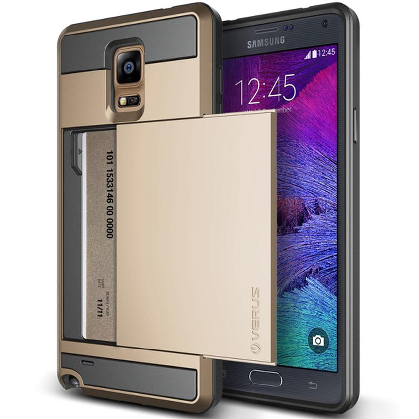 VERUS Galaxy Note 4 CASE Damda Slide Shine Gold