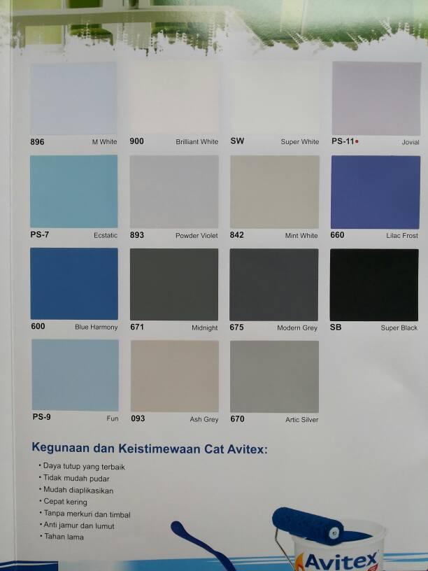 warna cat avitex joy studio design gallery best design