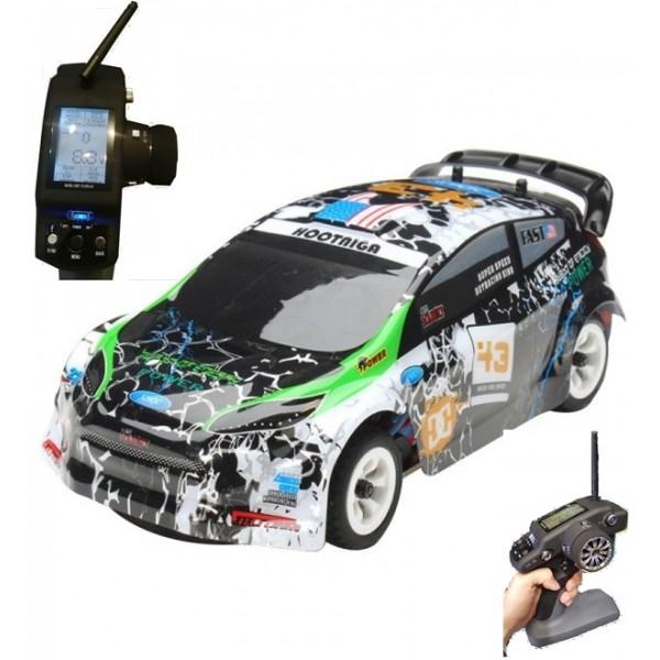 WL K989 Rally 1/28 2.4G 4WD LCD Transmitter RTR