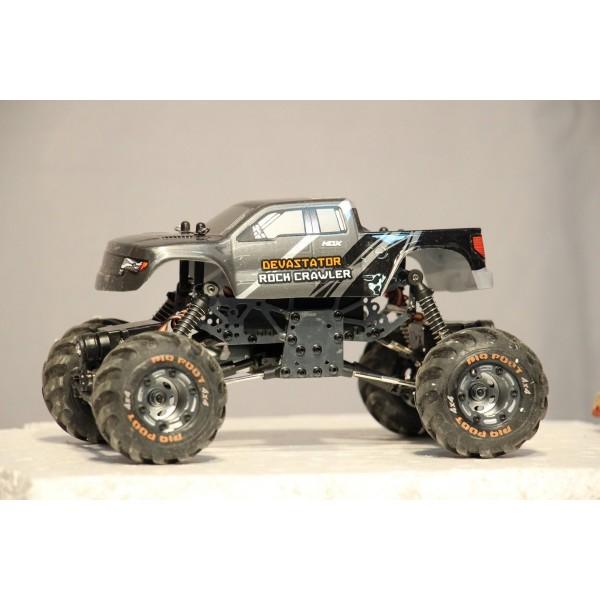HBX Devastator 1:24 3ch 4Wheel Steering 4WD Crawler Metal Chassis