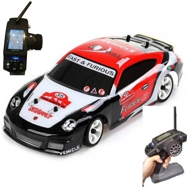 WL K969 Drift 1/28 2.4G 4WD LCD Transmitter RTR