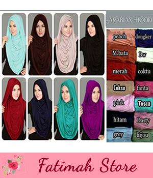 Hijab/Jilbab Instant Arabian Hoodie