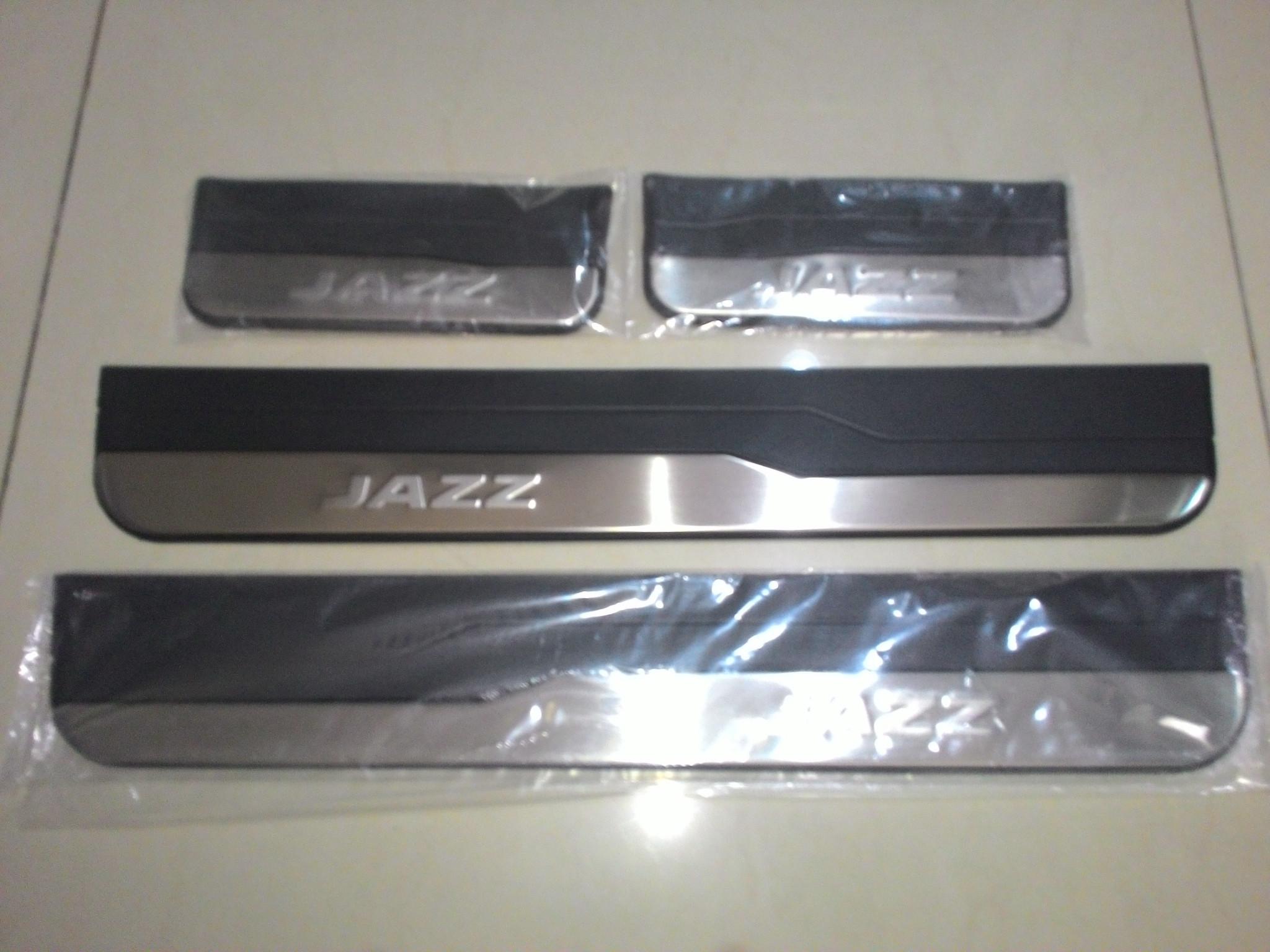 Sillplate Samping Stainless Kombinasi Jazz