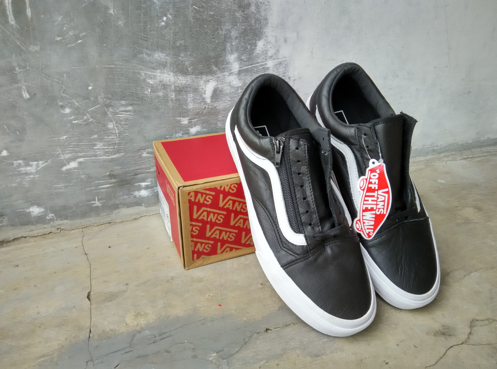 Find Sneaker 0fbbc 0abc0 Jual Vans Leather