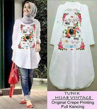 Baju Murah Terbaru Hijab Vintage