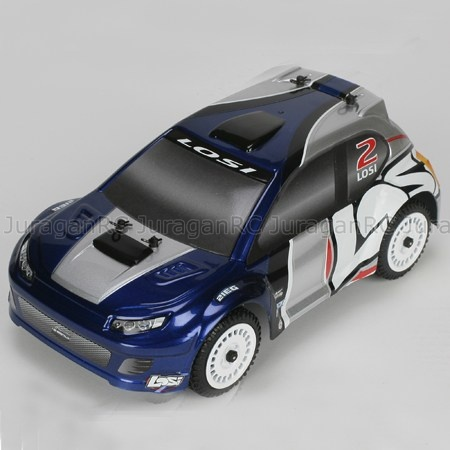 RC Car Team Losi 1/24 Micro Brushless Rally RTR - Blue