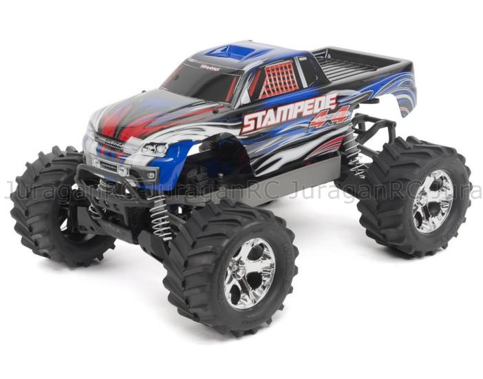 RC Car Traxxas Stampede 4X4 LCG 1/10 Monster Truck 4WD RTR