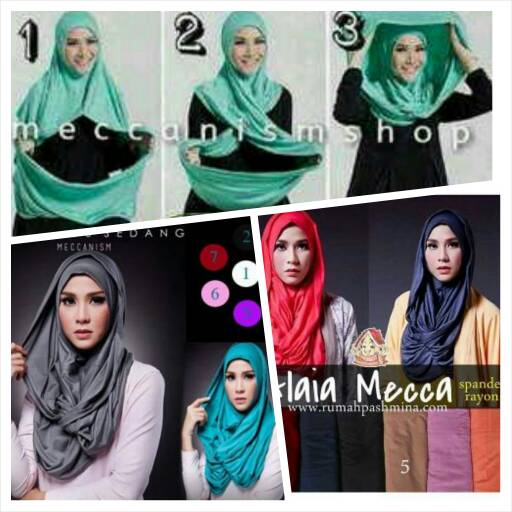 Jilbab Hijab Hoodie Alaia Mecca