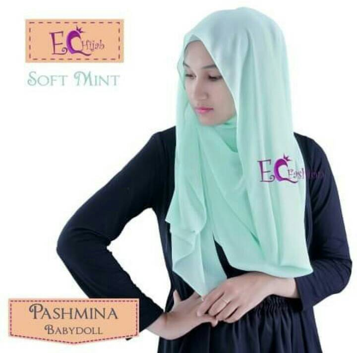 Pashmina Babydoll Georgette / Khimar / Hijab