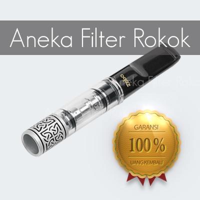 Filter Rokok Zobo Zb-033 Permanen Motif Batik (ukuran Standard)
