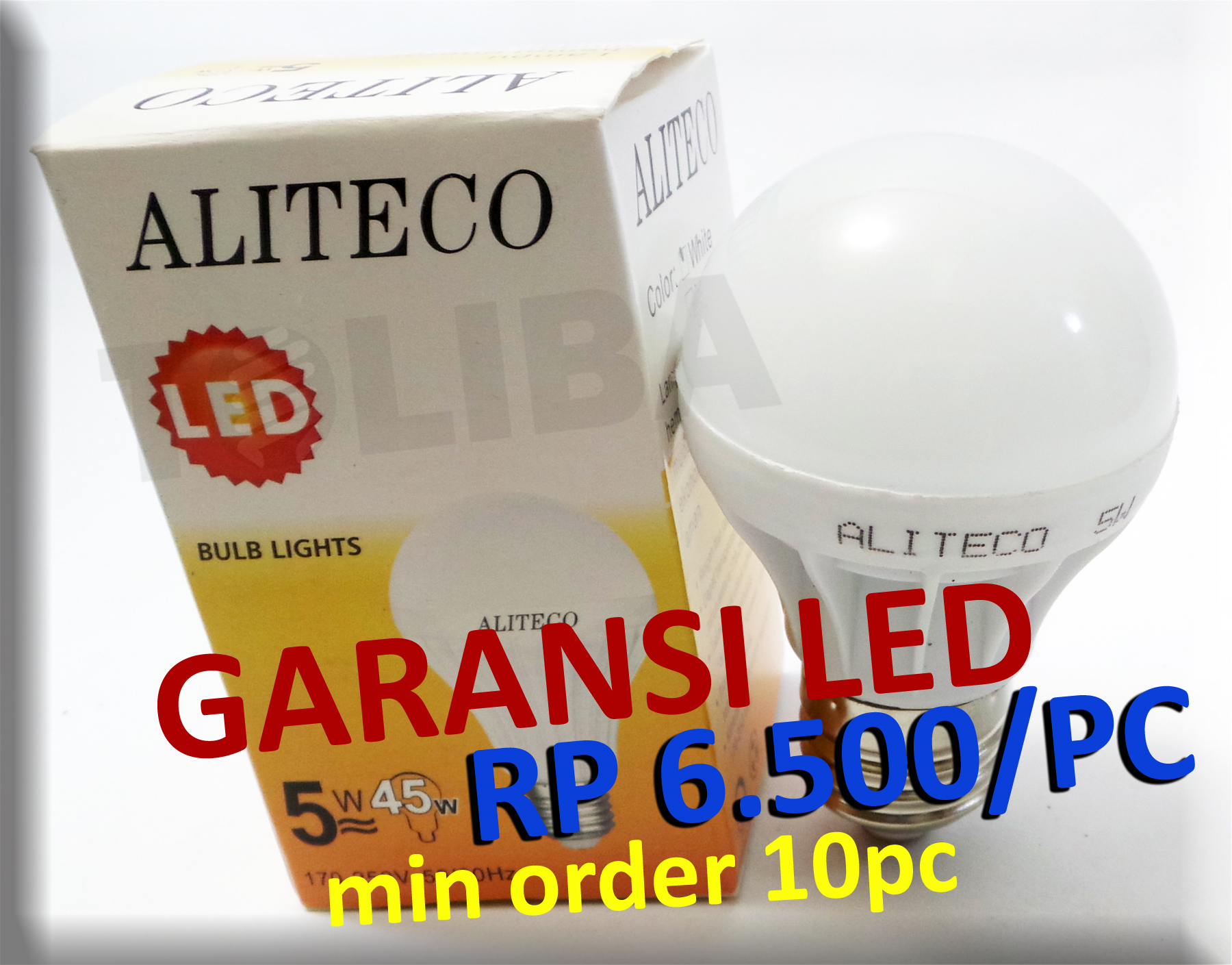 Aliteco Led Lampu 5 Watt Setara 45 Biasa Update Daftar Bulb Bohlam 15 Daylight Jual Hemat Listrik Termurah Toliba Tokopedia