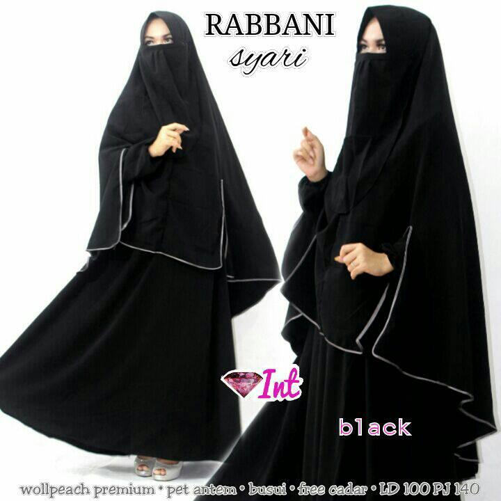 RABBANI SYARI, INT, Cadar, Muslim Syari, Modis, Hijab