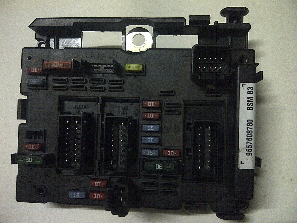 Jual Peugeot 206 307 807 Partner Fuse Box Bsm Bm34 B3 B4 B5 For Sale Autotronics Tokopedia