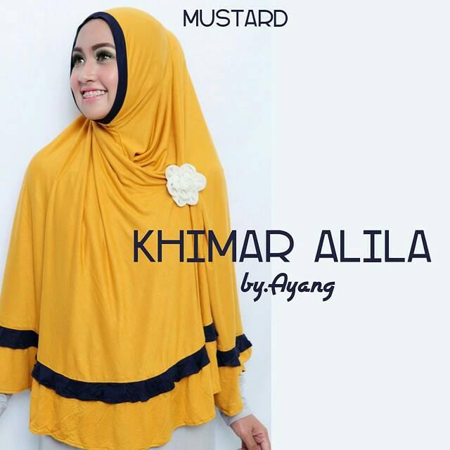 Hijab Jilbab Syari Murah Instant Khimar Alula
