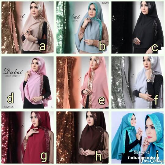 Hijab Dubai ori Sayra