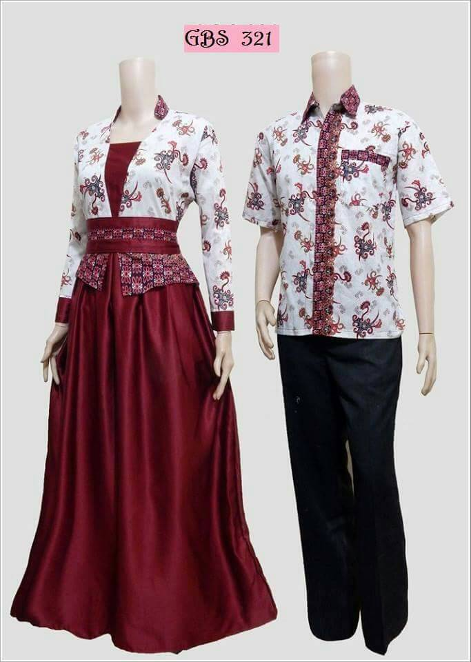 Baju Batik Couple Arabella