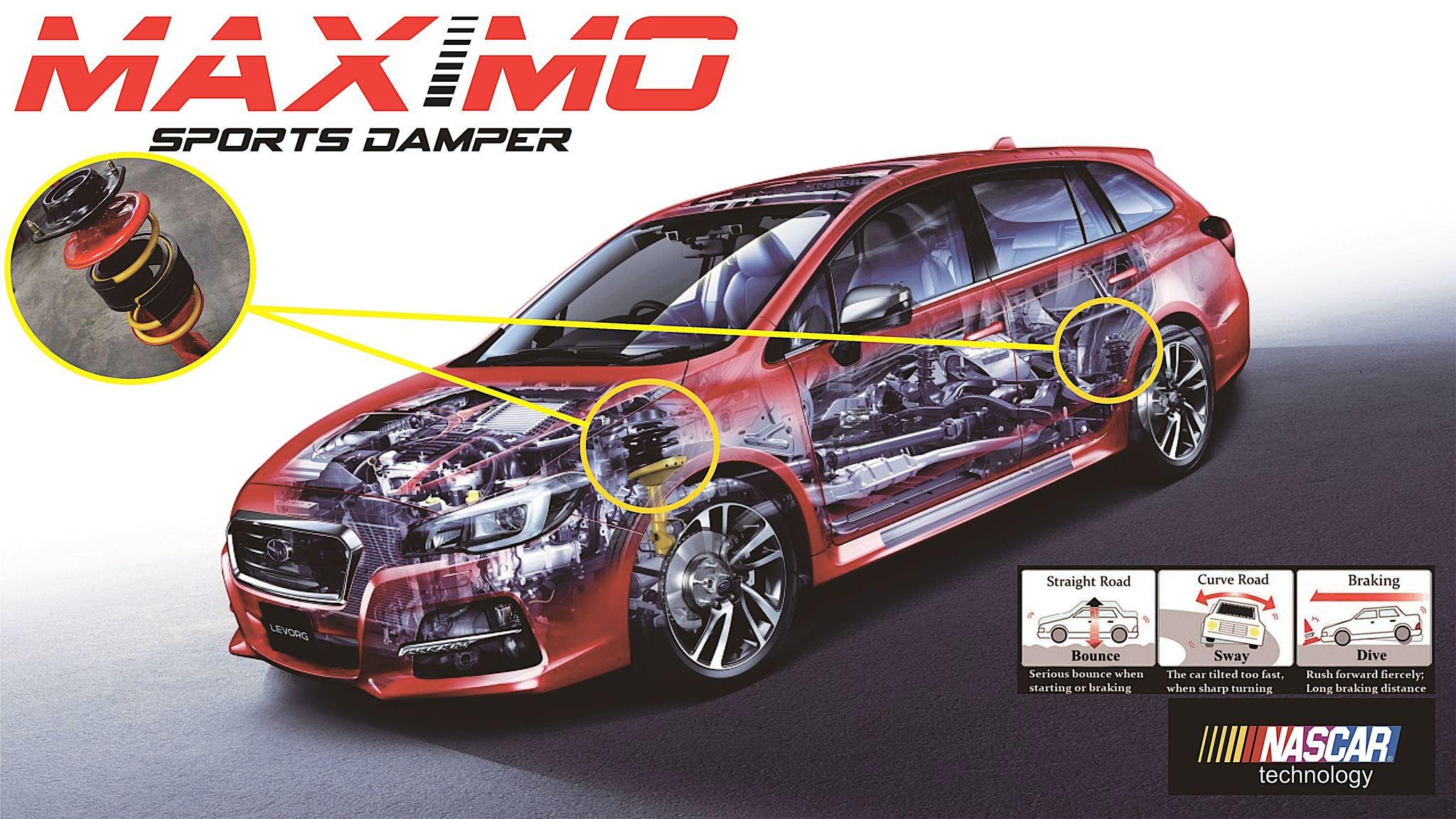 Spring Buffer/Stabilizer/Maximo Sports Damper Honda Jazz RS (belakang)