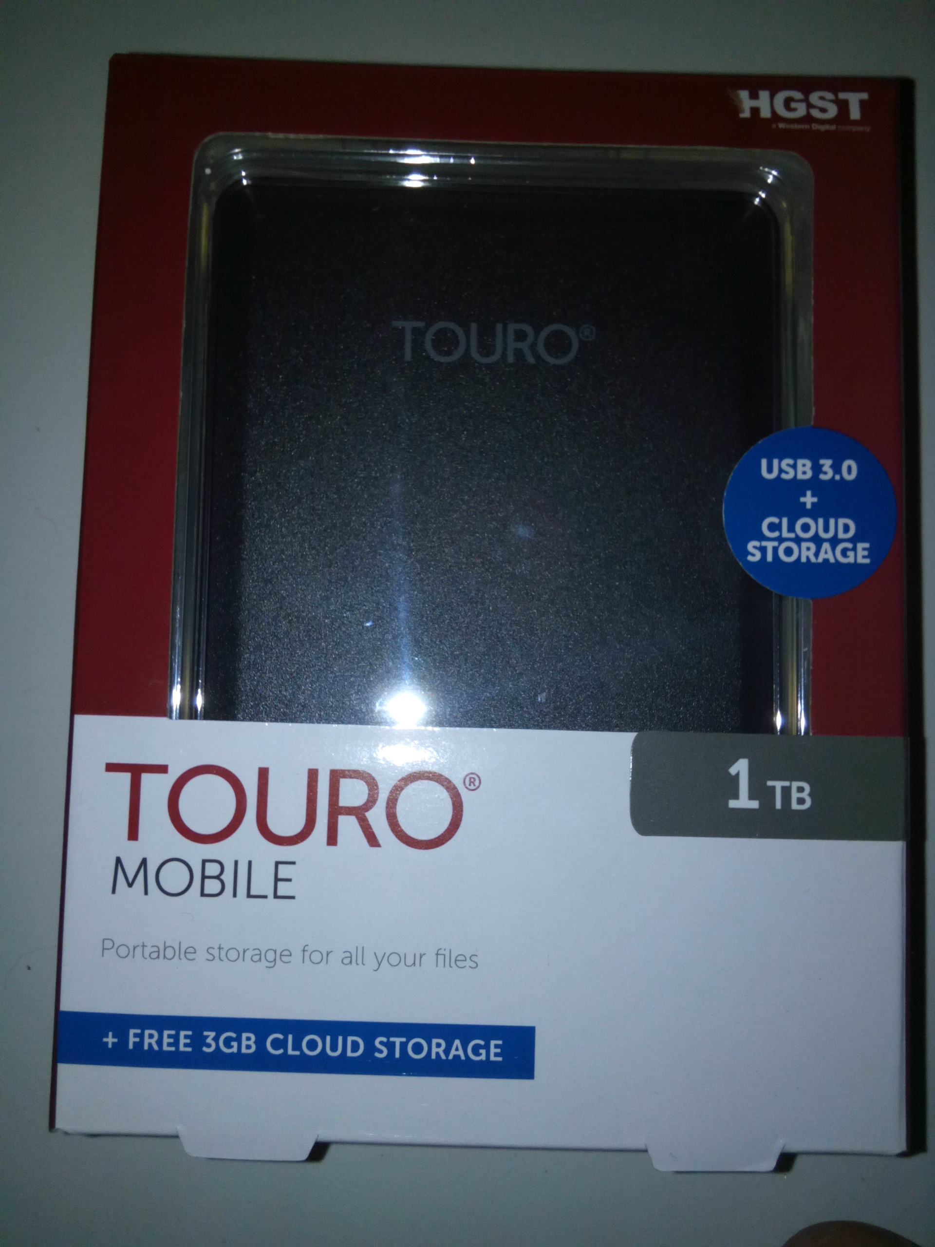 Jual Hitachi Touro Black Hard Disk External 1tb 1 Tb