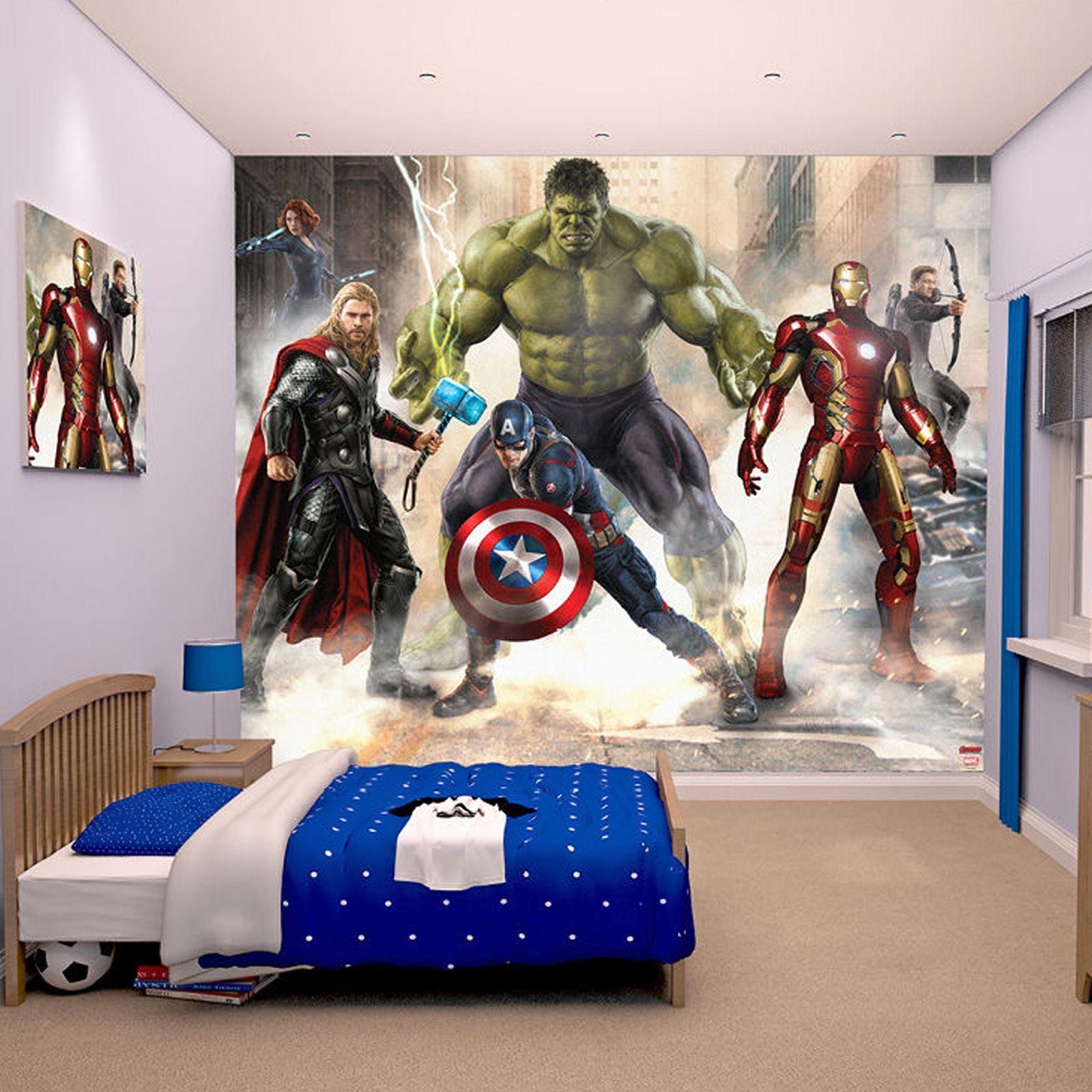 Jual Wallpaper Dinding Custom Avenger Butik Wallpaper Bekasi