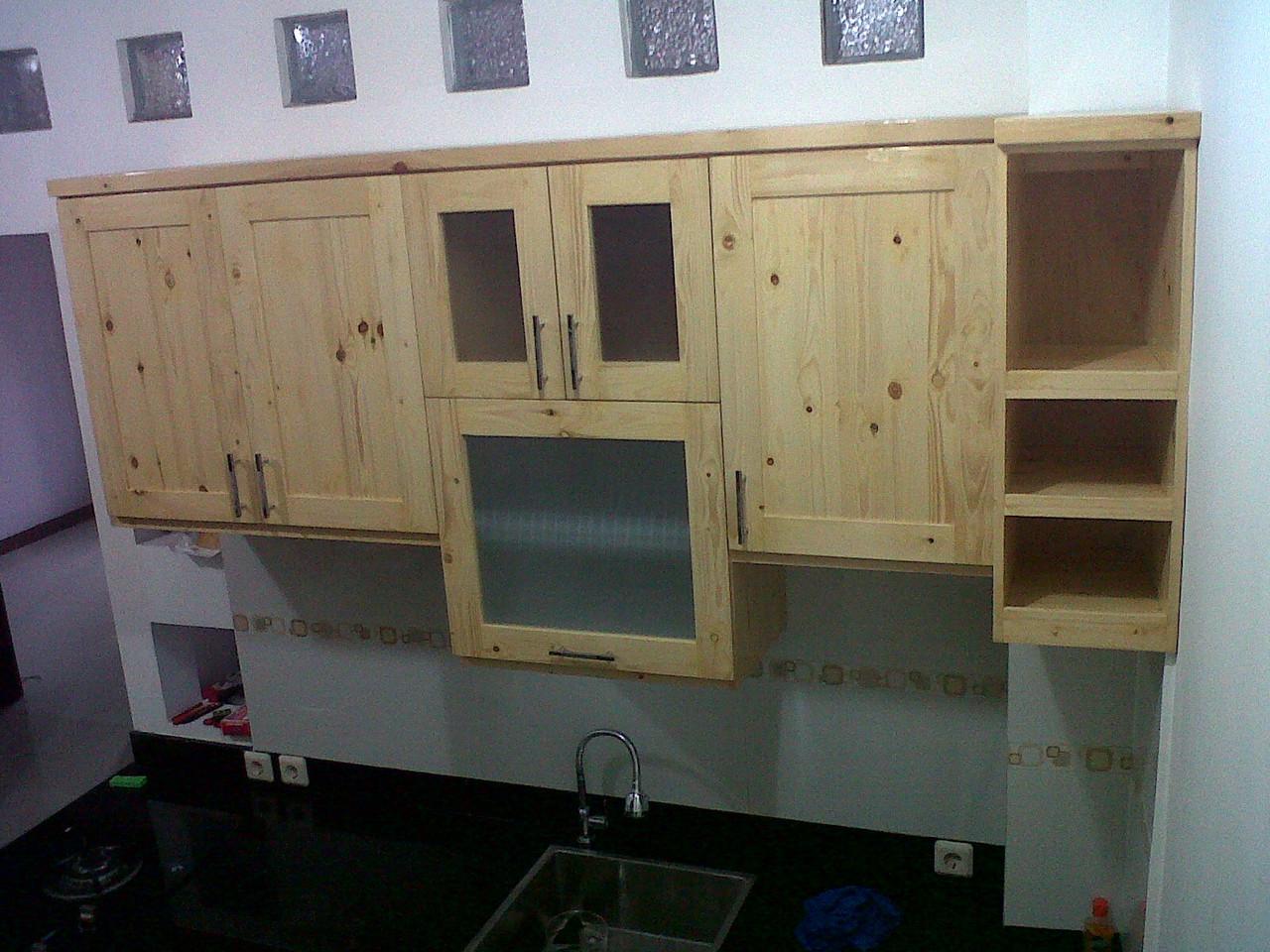 Pintu kayu jati belanda berbagai macam furnitur kayu for Bikin kitchen set