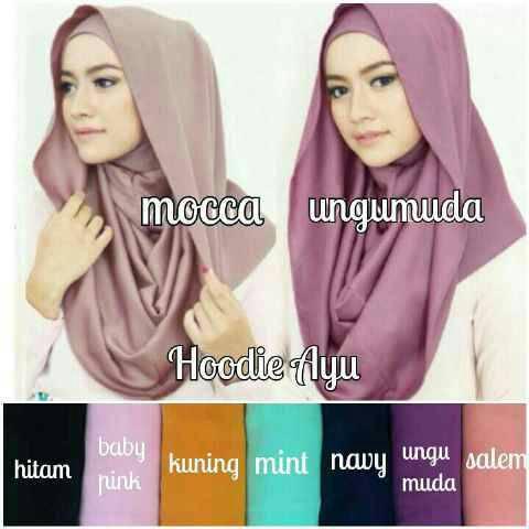 Best seller..!!! HOODY AYU | grosir kerudung | suplyer hijab