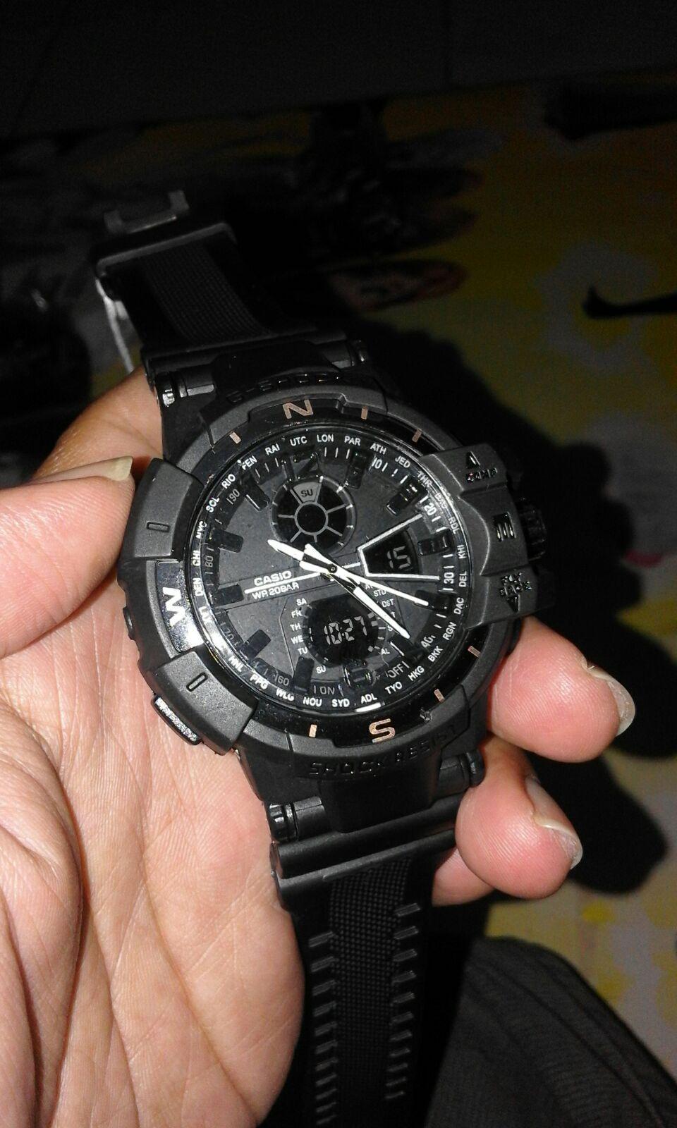 jam tangan gshock gwa 1100 g shock gw a 1100 gw a1100 gwa1100 full bla