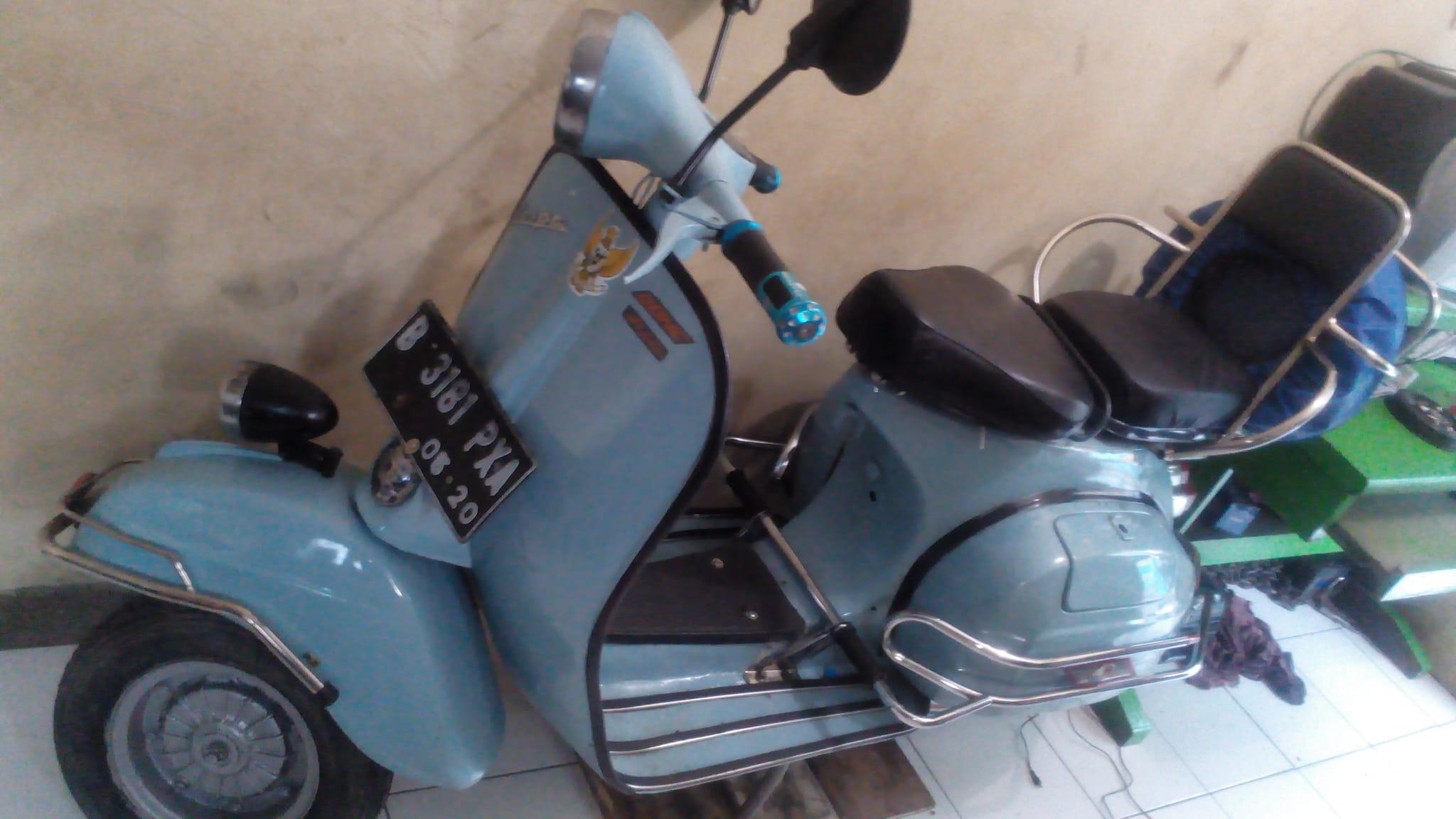 Jual Motor Vespa Super 75 Antik Murah Max Jaya Tokopedia