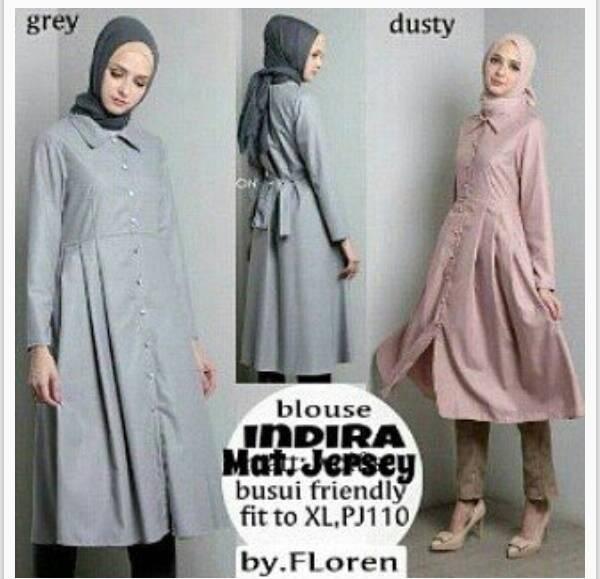 baju hijab cewek indira ibu menyusui