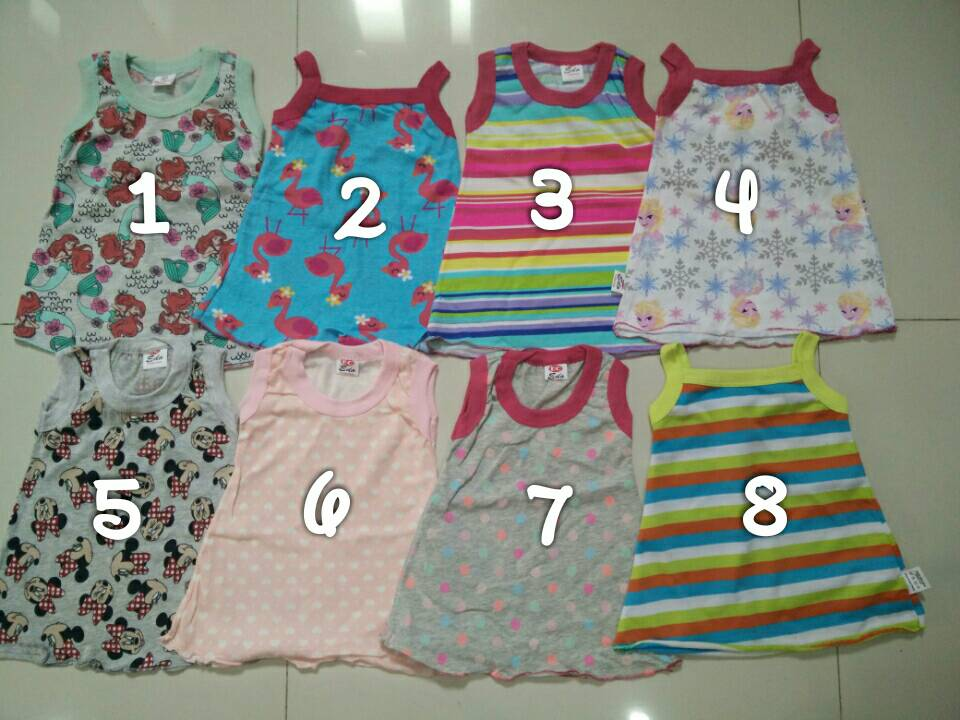 Daster bayi / dress baby (size 0-12 bulan)