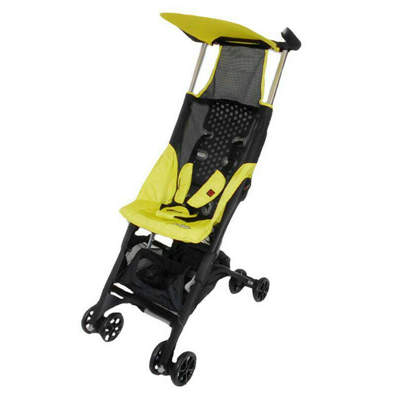 stoller cocolatte pockit CL 689 yellow backpack