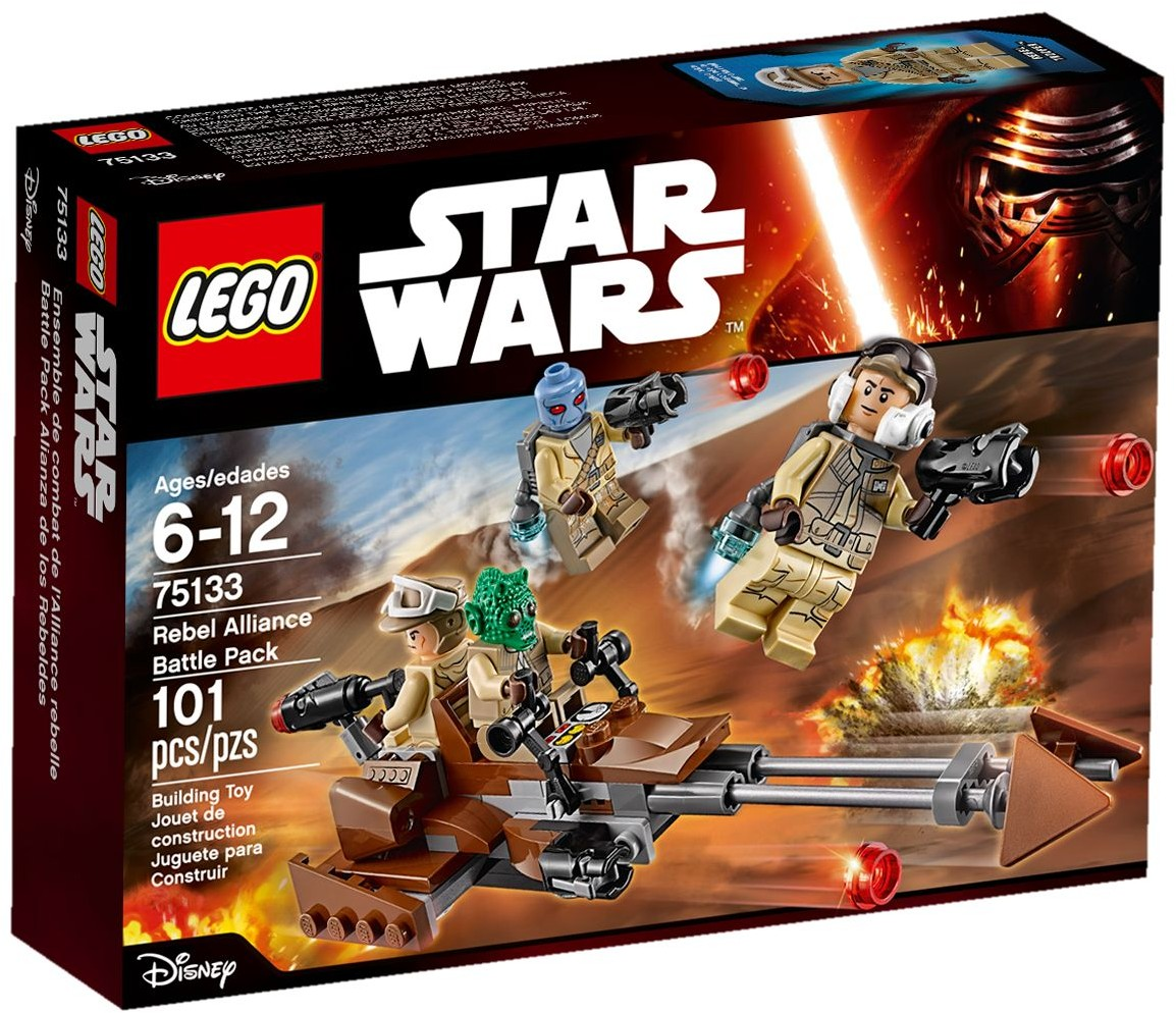 LEGO 75133 - STAR WARS - Rebel Alliance Battle Pack