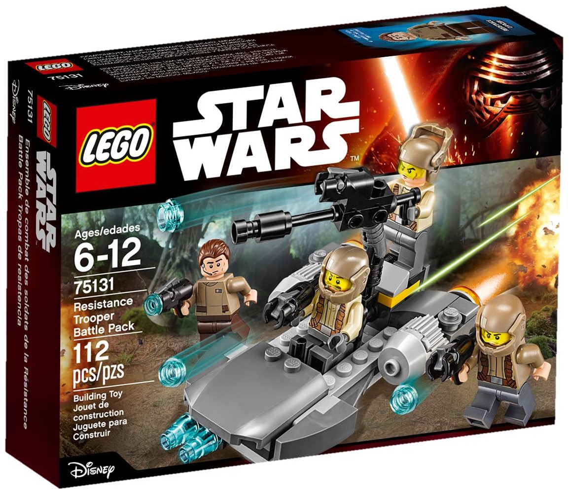 LEGO 75131 - STAR WARS - Resistance Trooper Battle Pack