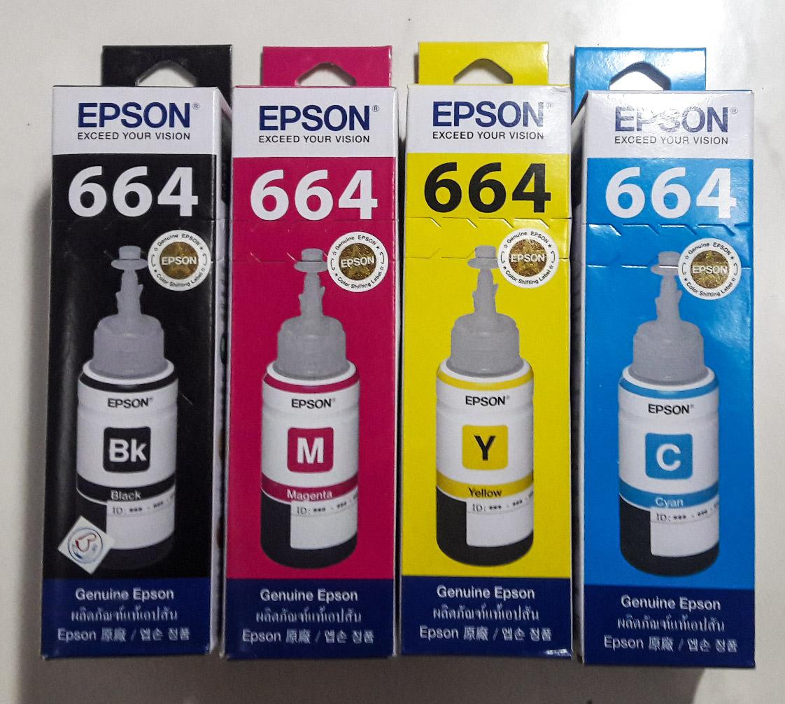 Jual Tinta Epson Original L100 L110 L120 L200 L210 L220