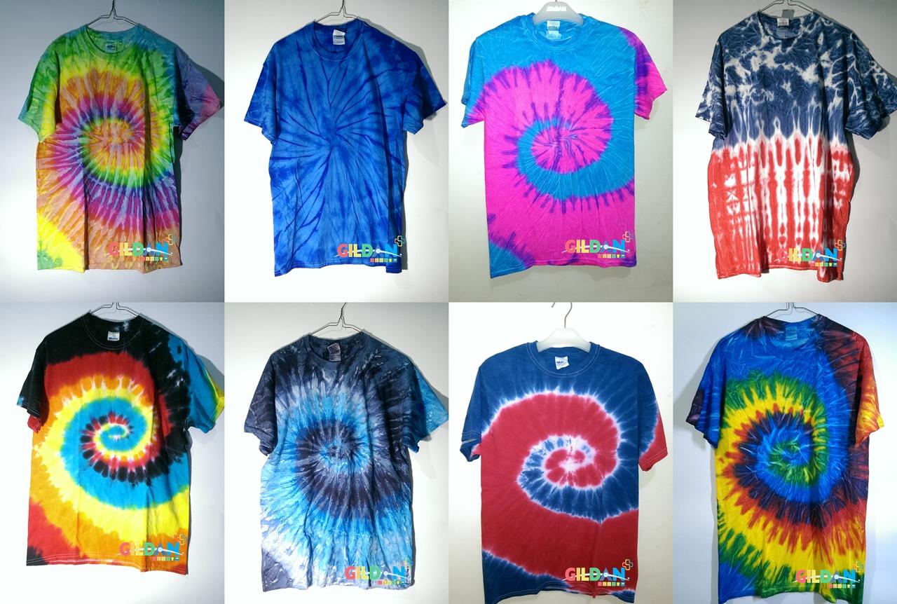 Jual Gildan Tie Dye T5000 Heavycotton T Shirt Kaos Polos