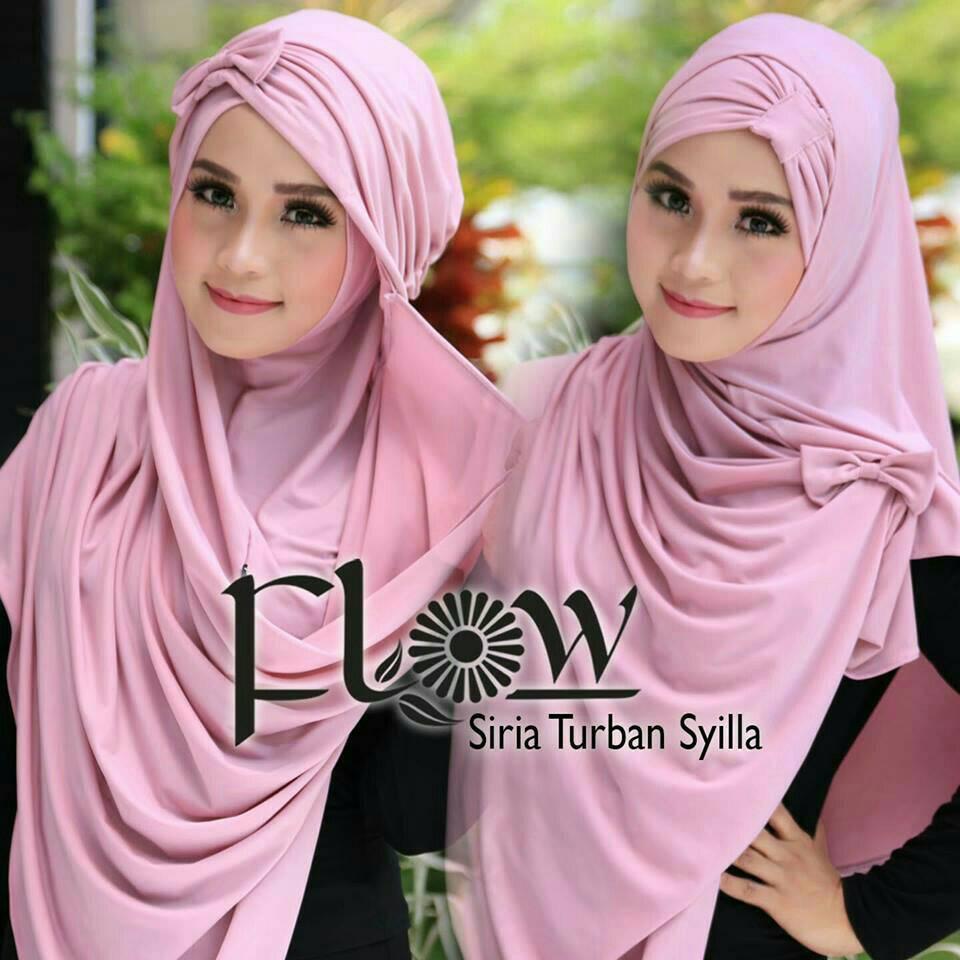 hijab/ kerudung/ jilbab instan/ flow
