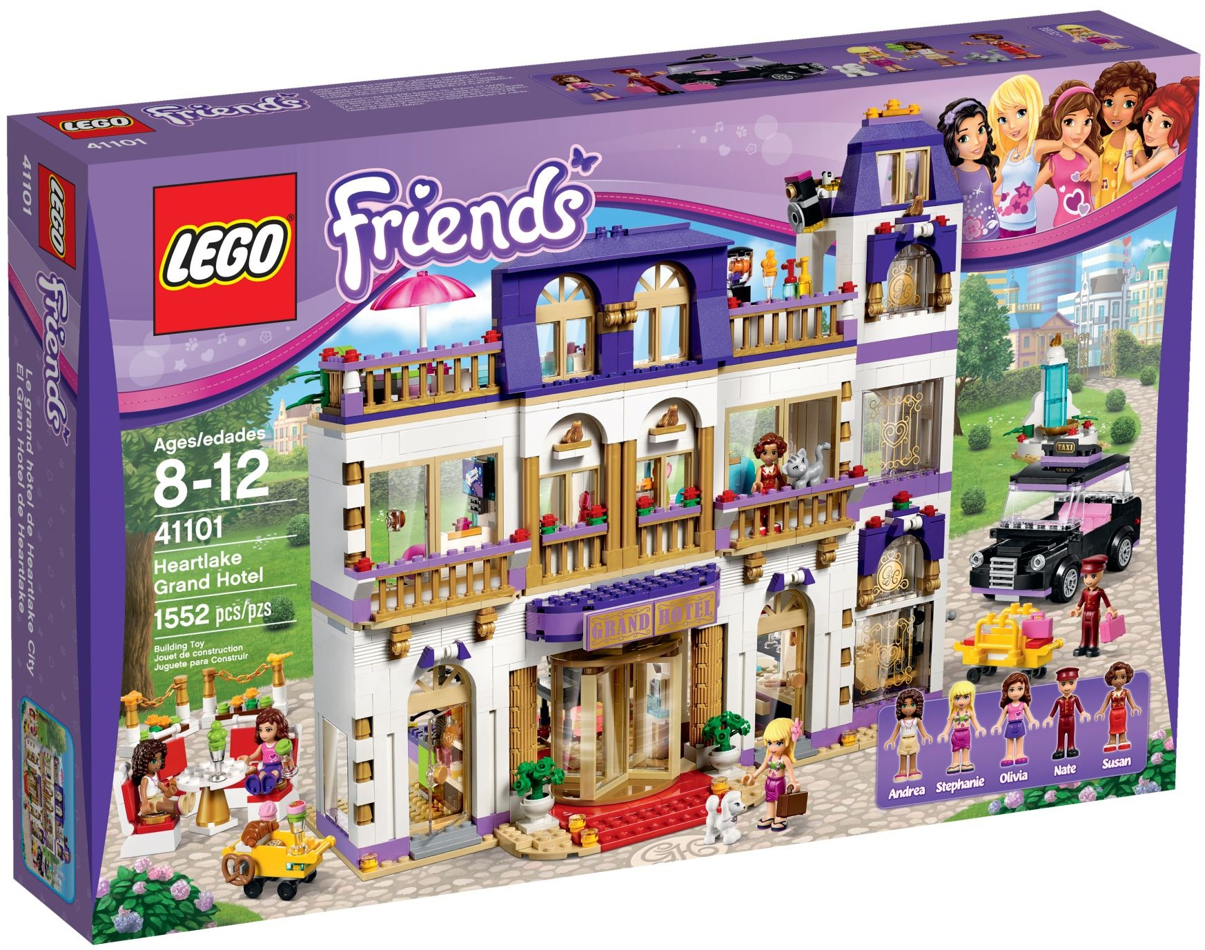 LEGO 41101 - Friends - Heartlake Grand Hotel